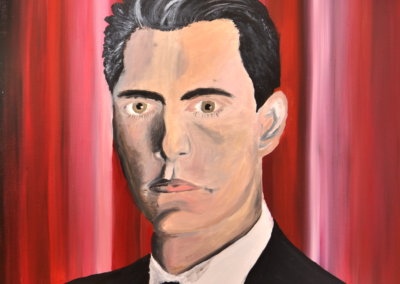 Dale-Cooper-Twin-Peaks-Painting-70x70cm-Oil-on-Canvas-Fabrice-Knecht-small