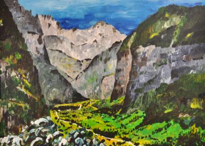 Fabrice-Knecht-Lauterbrunnental-60x80cm-Acrylic-on-Canvas